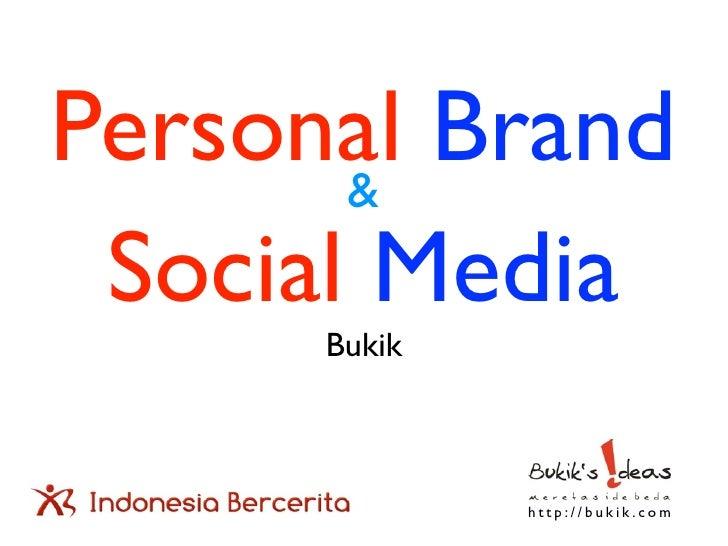 Personal brand & social media