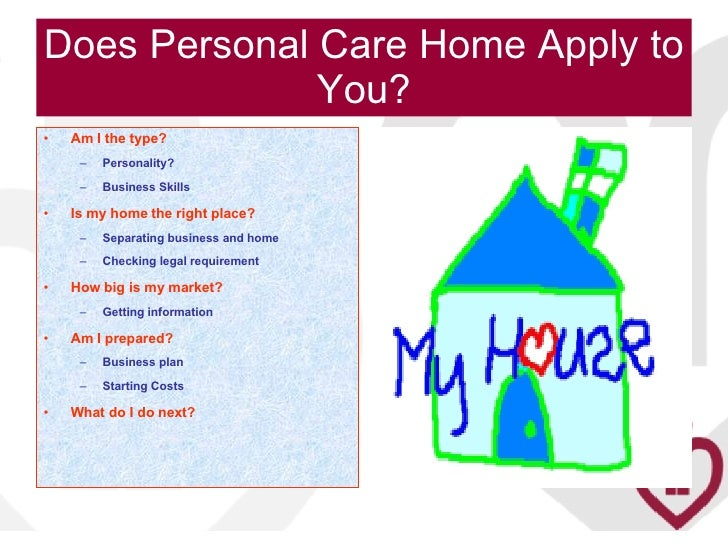 Personal Care Home Business Plan Idea Home And House