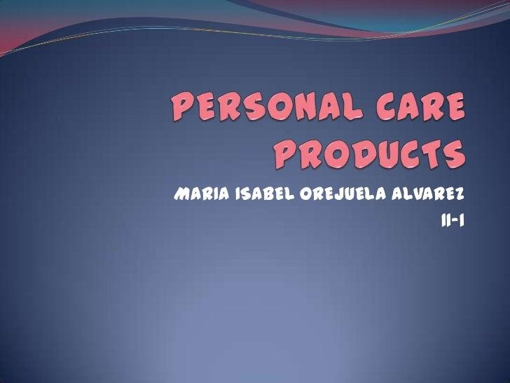 MARIA ISABEL OREJUELA ALVAREZ                           11-1