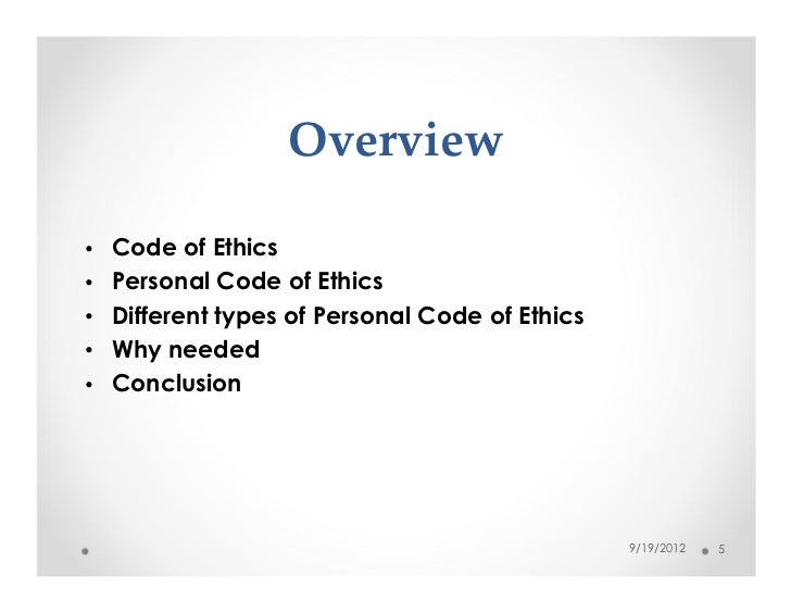 personal ethics conclusion If you want to know more about personal ethics statement writing, review the items that you can see in this post.