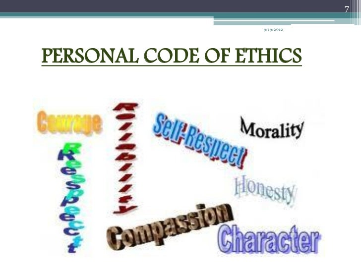 my personal global code of conduct When mentioned in our code of conduct,  we look to a future where global water issues  in compliance with our code each of us has a personal responsibility to.