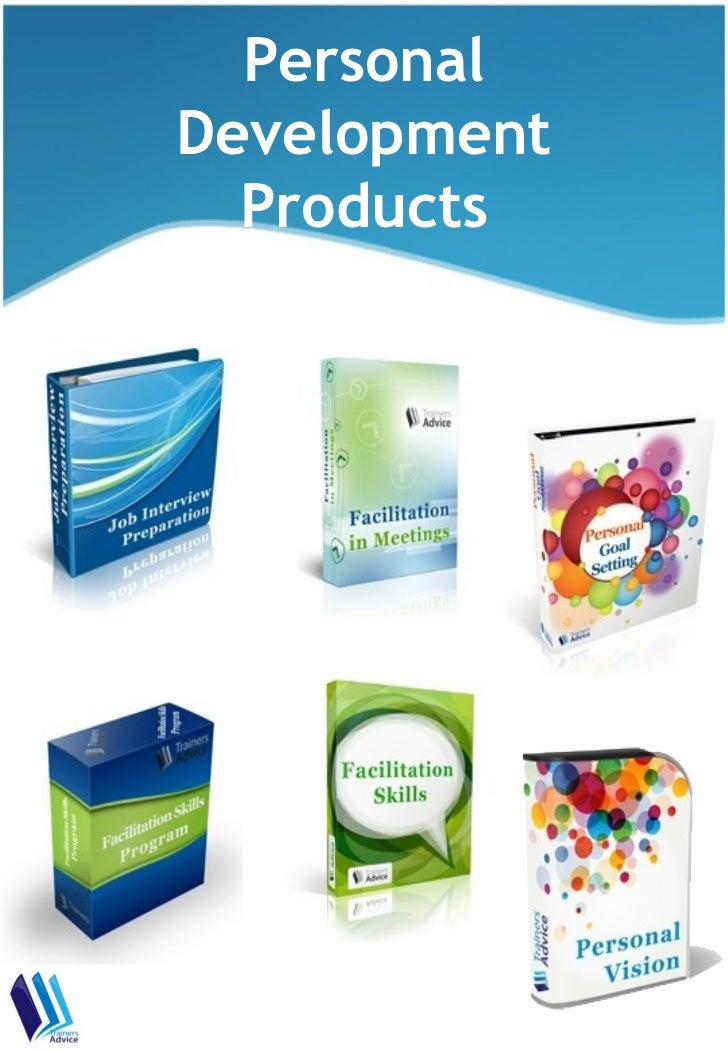 Personal Development Training Products
