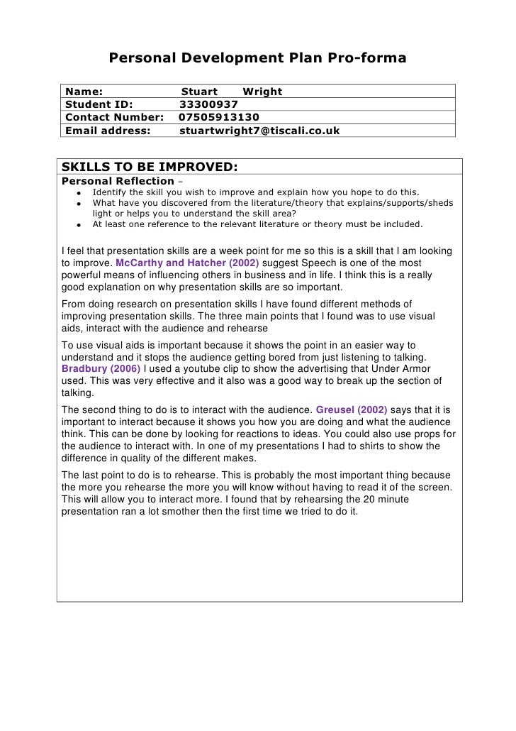 Leadership Essay Ideas Co Leadership Essay Ideas. Personal Development Plan  Sample For Page. Personal Development Plan Sample ...