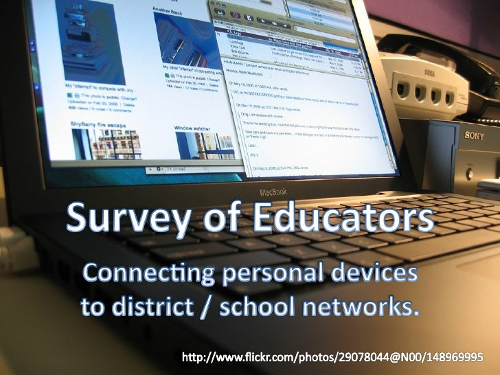Personal Devices On School / District Networks