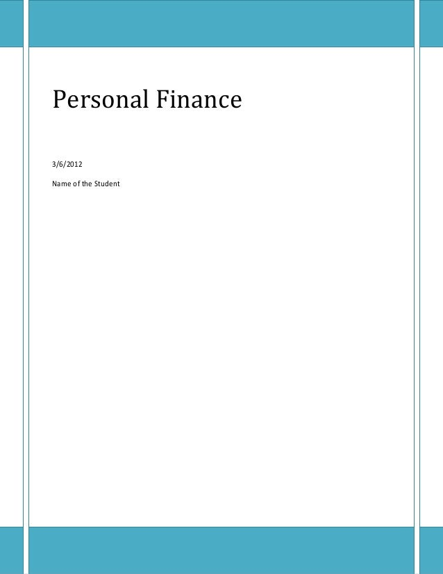 Finance assignment help online
