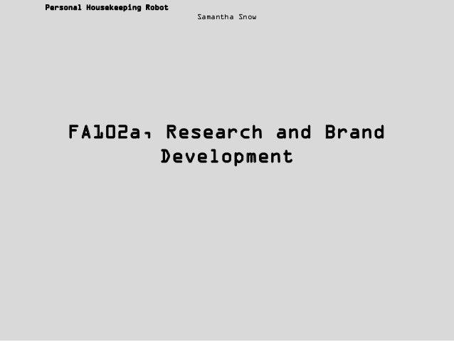 FA102a, Assignment Three
