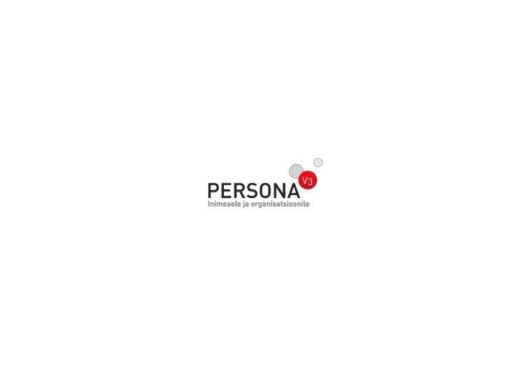 Personaliarvestustarkvara PERSONA     Isiku ja ametikoha andmed                            Aruandlus  Teie asutuse töötaja...