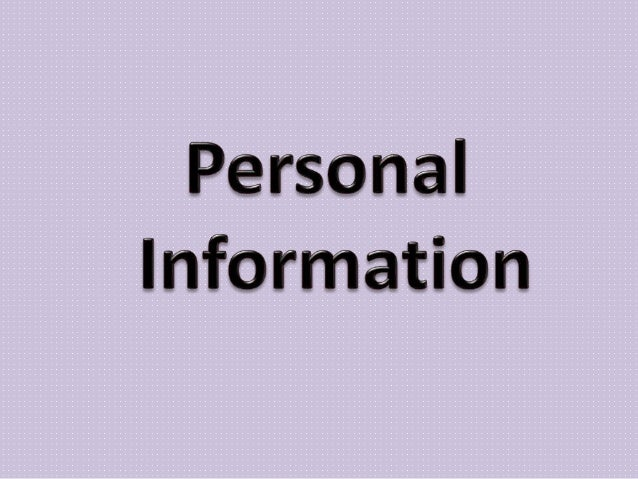 asking for and giving personal information pdf