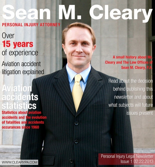 Personal injury legal newsletter   issue1 02.22.2013