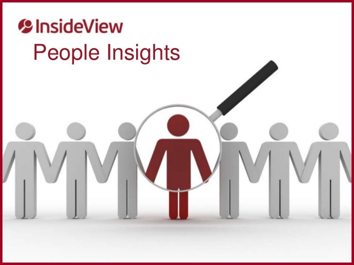 Personal insights | InsideView | Selling to People NOT Contacts
