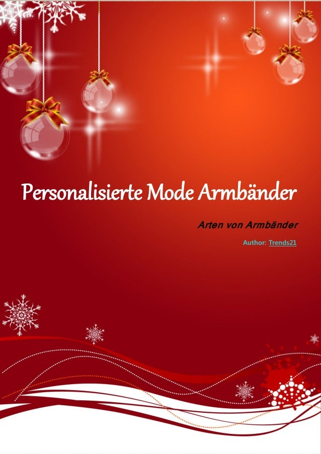 Personalisierte Mode Armbänder Arten von Armbänder Author: Trends21