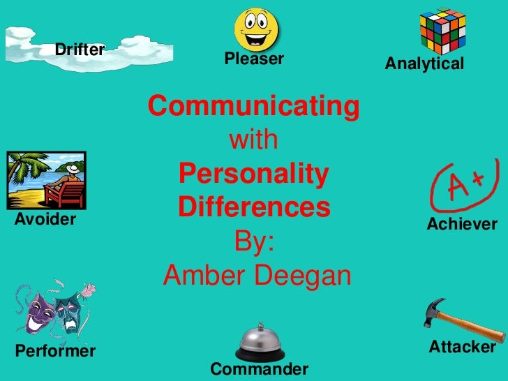 Communicating with Personality Differences