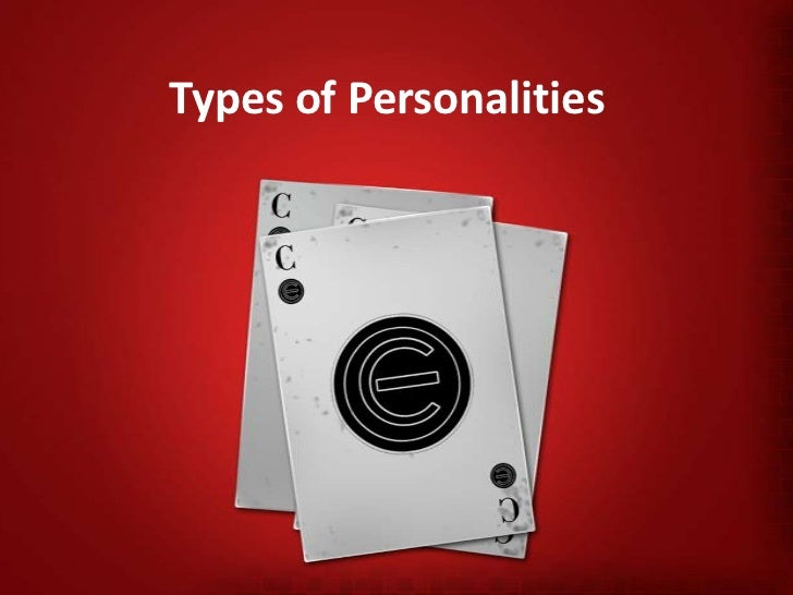 Types of Personalities<br />