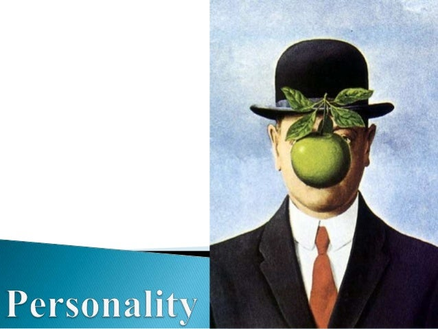 The term personality is derived from the Latin word Persona meaning a Mask. The visible aspect of one's character as it im...