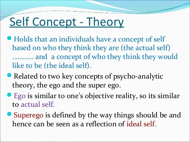 self concept meaning of life and ideal Examining their self-reported attitudes toward meaning, happiness, and   leading a happy life, the psychologists found, is associated with.