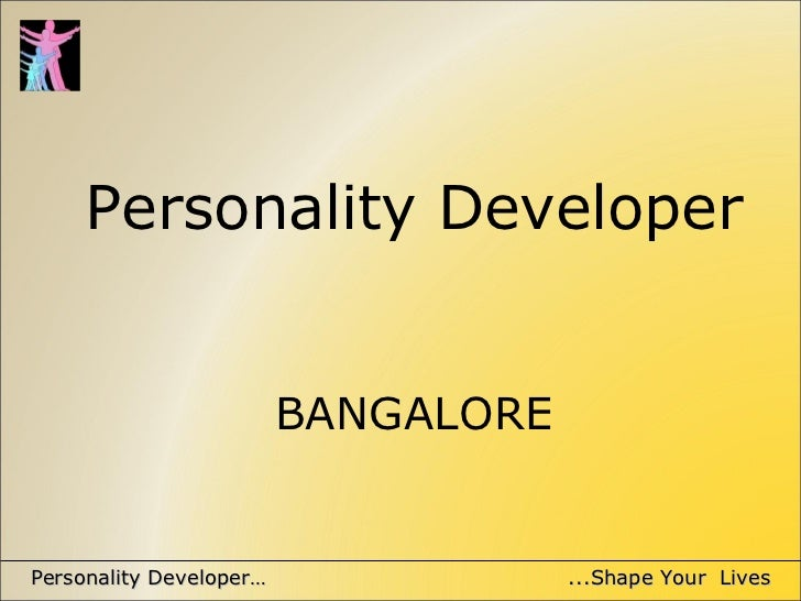 Personality developer