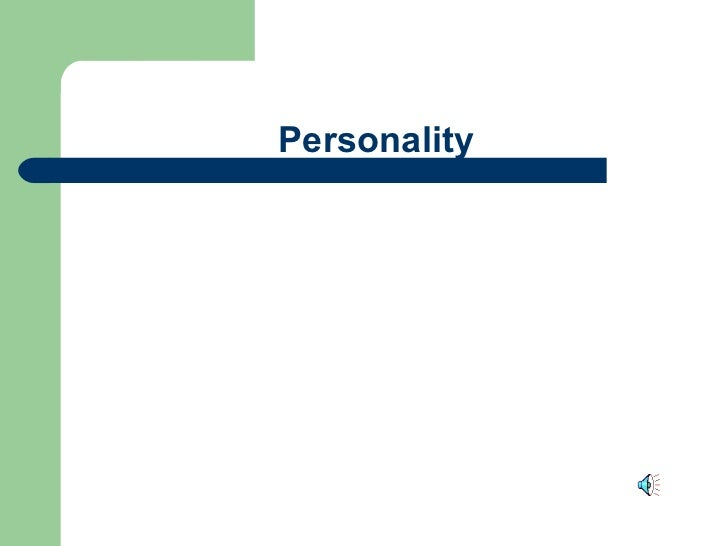 Personality noclips