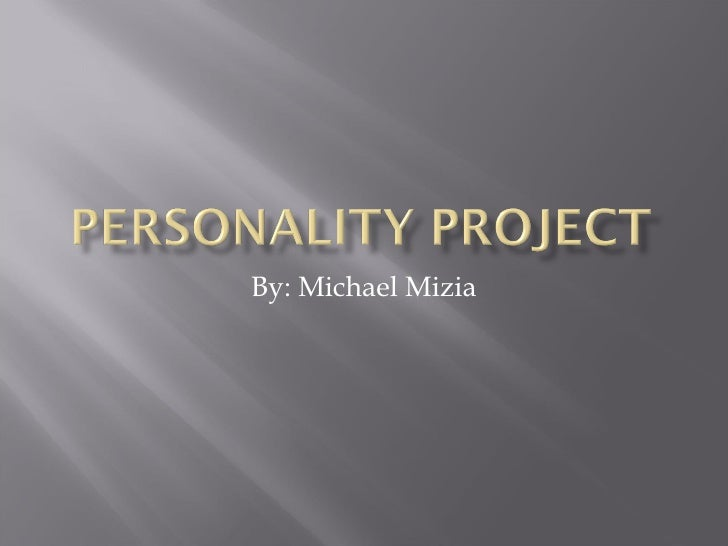 Personality Project2