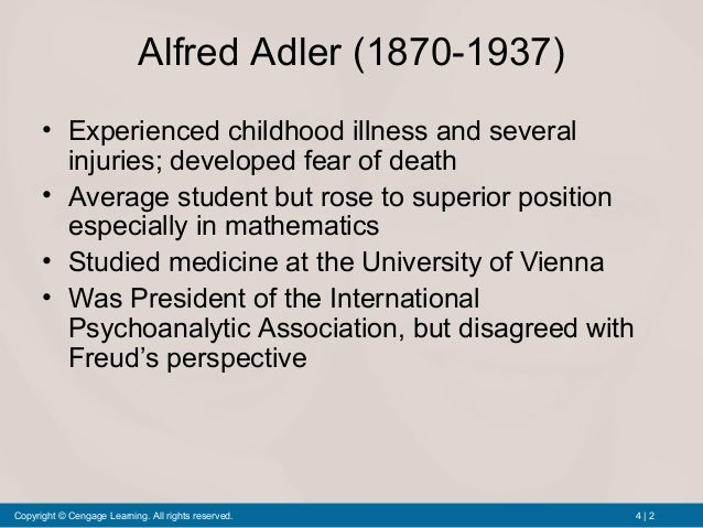 individual psychology theory of adler Alfred adler's psychoanalytic theory of individual psychology has had a large  impact this lesson will provide a brief overview, explain key.
