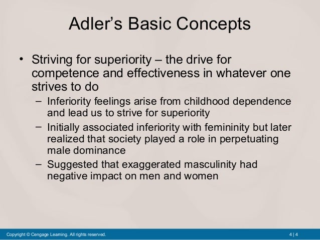 alder s theory Program: • the man alfred adler • basic concepts of individual psychology • development of personality- attachment theory, mentalization, intersubjectivity • adlerian psychotherapy - adlerian psychotherapy of children and adolescents brigitte sindelar/gabriela pap: the individual psychology of alfred adler.