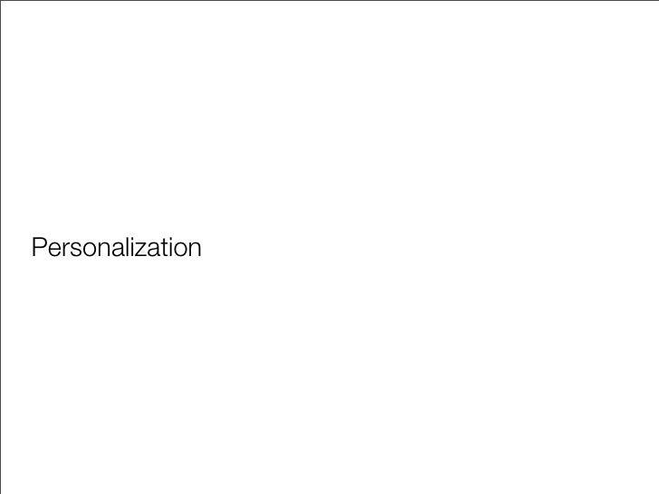 Personalization Specht