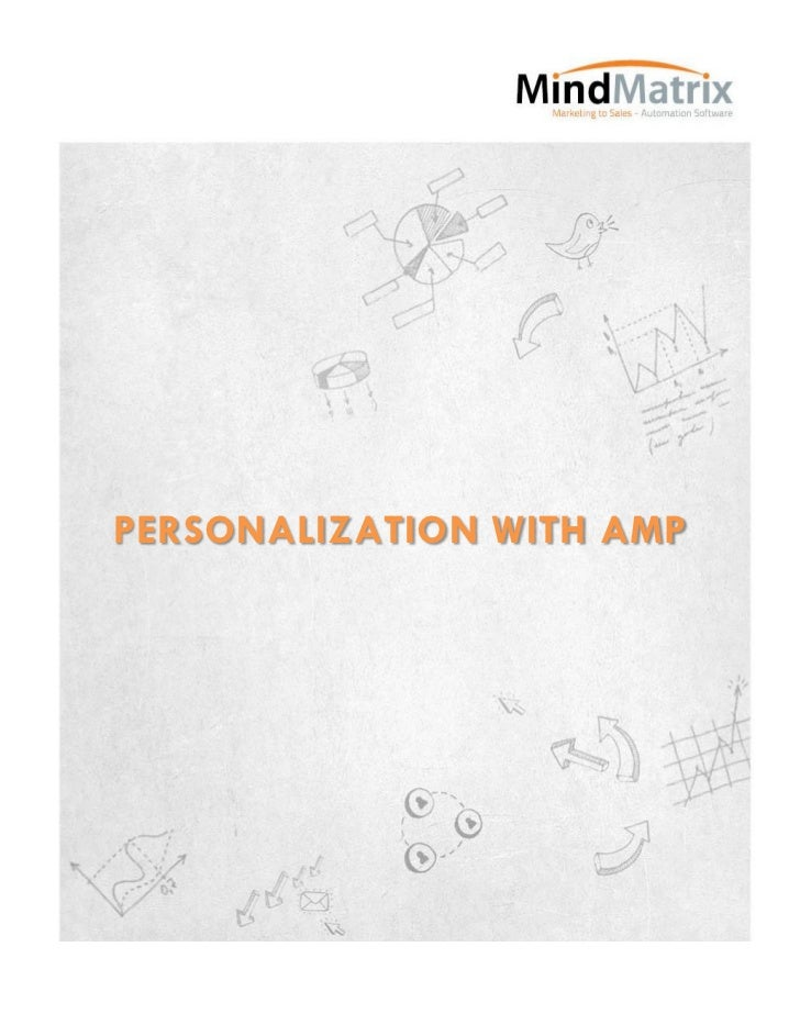 PERSONALIZATION WITH AMP