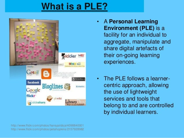 Personal learning environments brenton dass 201225820