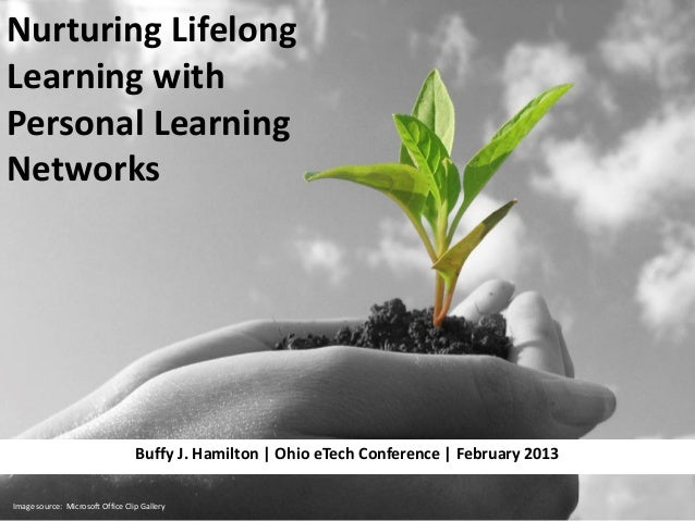 Nurturing Lifelong Learning with Personal Learning Networks