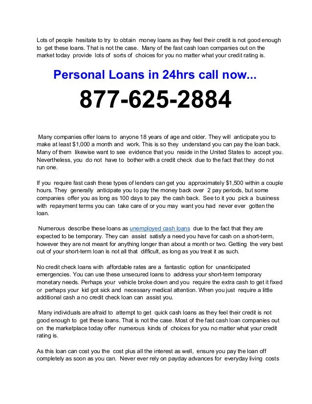 How To Borrow Emergency Loans?