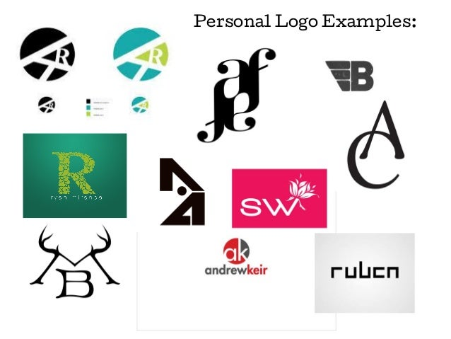 how to choose a personal logo