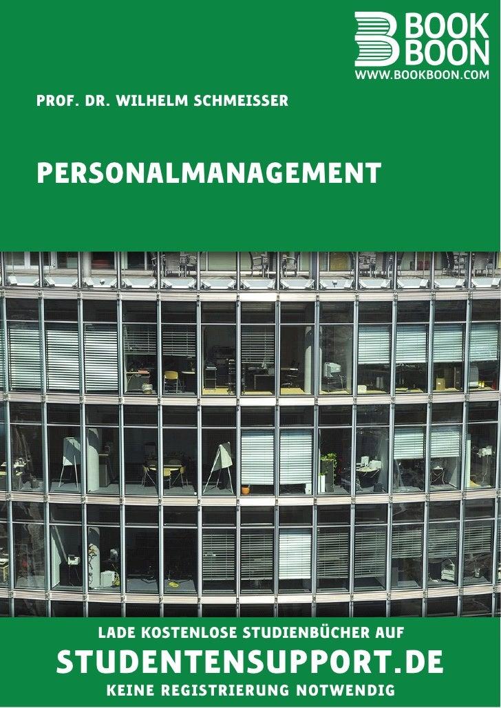 Input: Personalmanagement