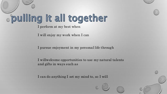 my personal mission statement in life My personal mission statement is to continue to learn and grow in my abilities, utilizing my skills, training and personal character to thrive in any position i hold, while striving to advance in the company and contribute to its success.