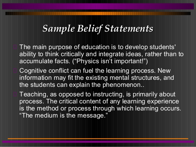 Personal Philosophy Of Teaching