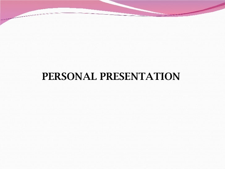 Personal presentation alejandra