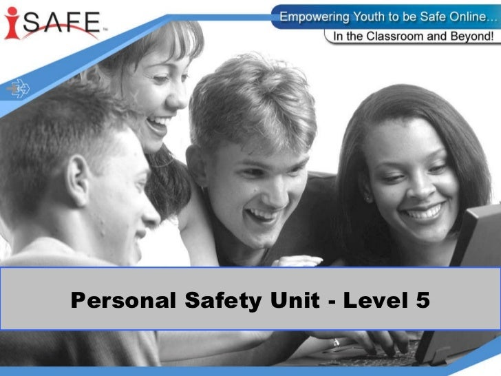 Personal safety gr5 unit ppt