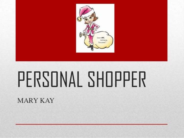 personal shopper rates