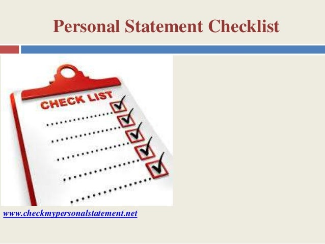 Try Our Personal Statement Plagiarism Checker