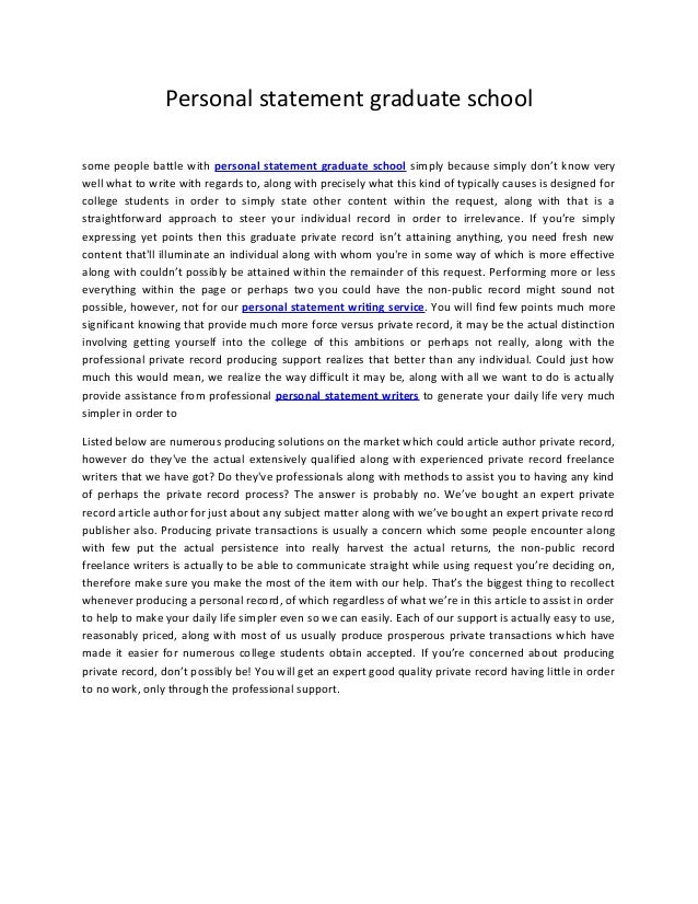 Personal statement for graduate school sample essays for education majors