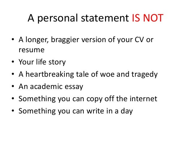 High School Personal Statement Essay Examples Resume Personal