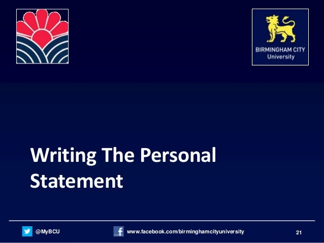 personal statements for college courses