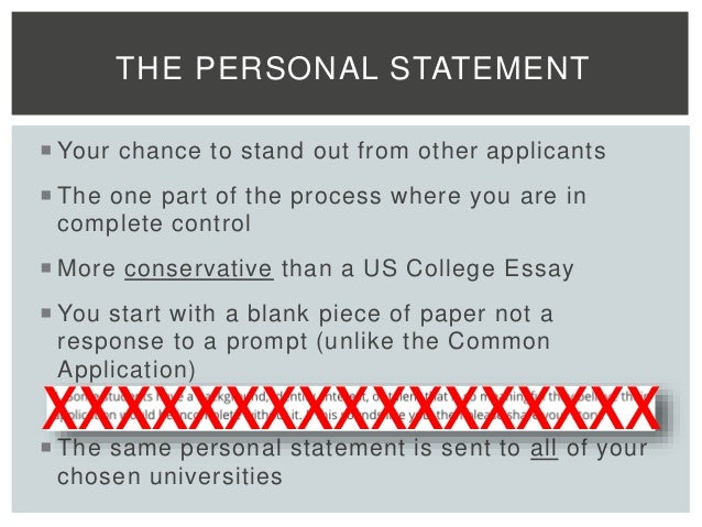 Do different universities have the same essay prompt?
