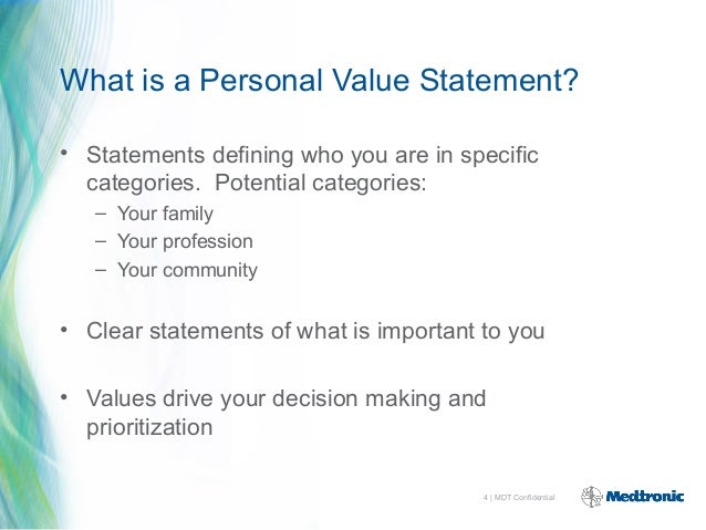 my personal values statement Your personal statement is an important part of your ucas application click here to use our personal statement tool so you can create your application.
