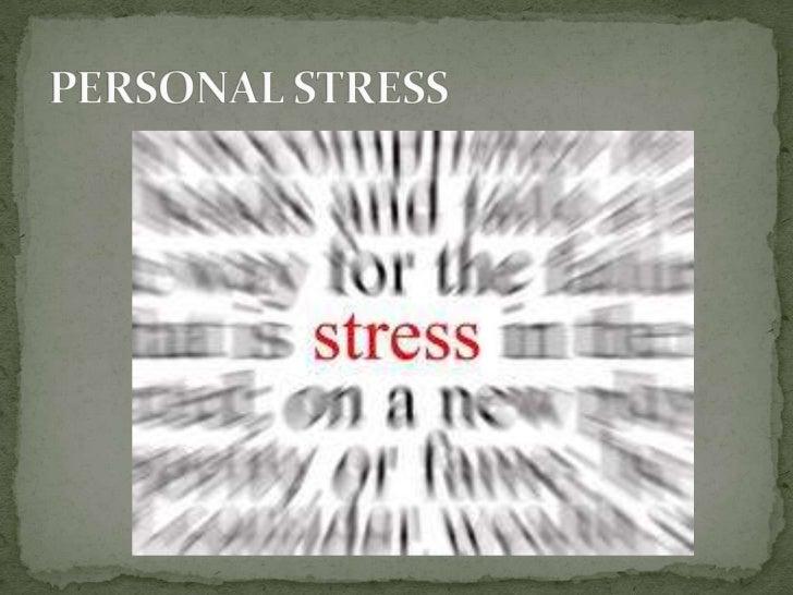Personal stress.pptx henok