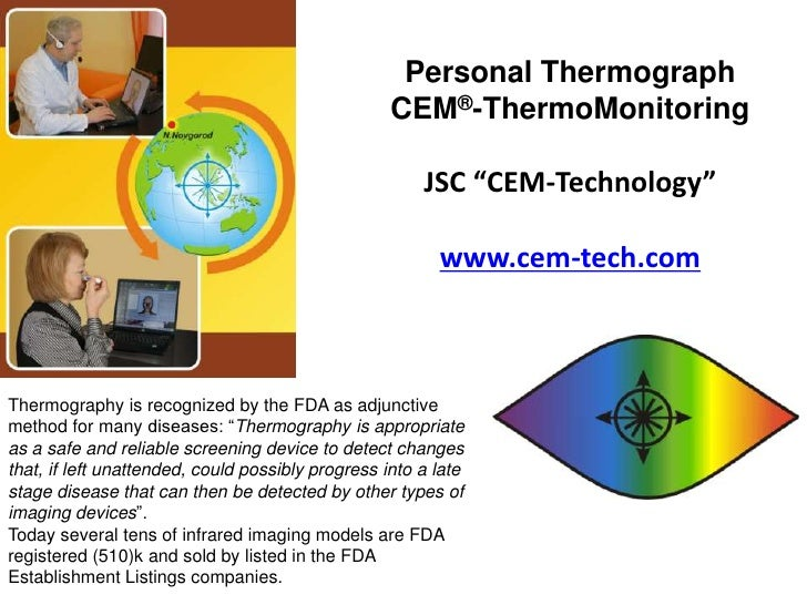 Personal Thermograph                                                   CEM®-ThermoMonitoring                              ...