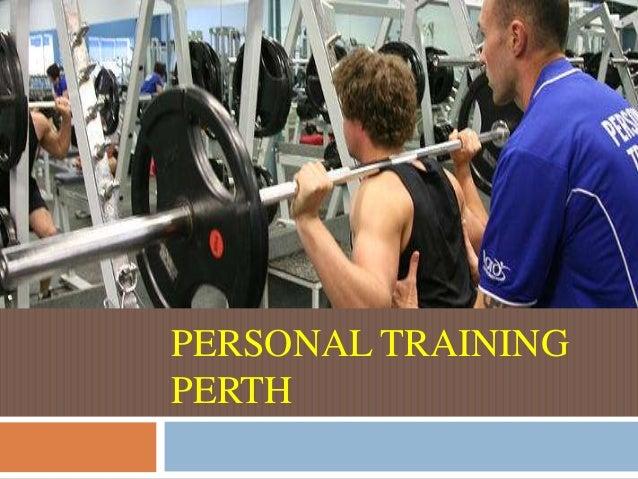 Personal training perth