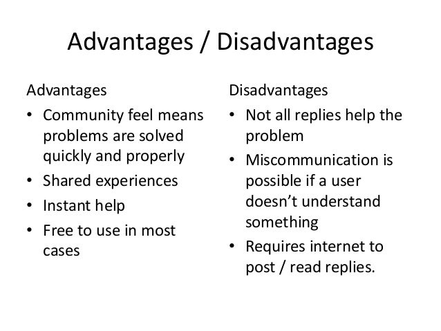 WHAT ARE THE ADVANTAGES AND DISADVANTAGES OF MSN LANGUAGE?