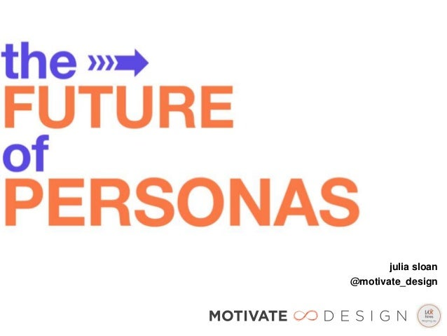 The Future of Personas