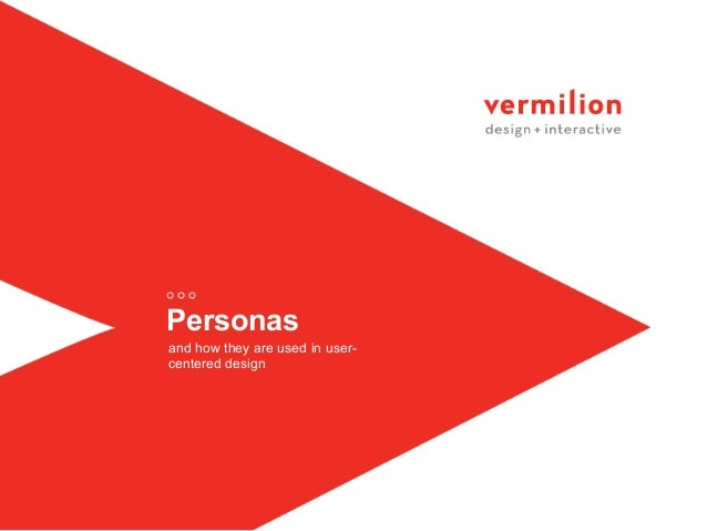 Personas and how they are used in user- centered design