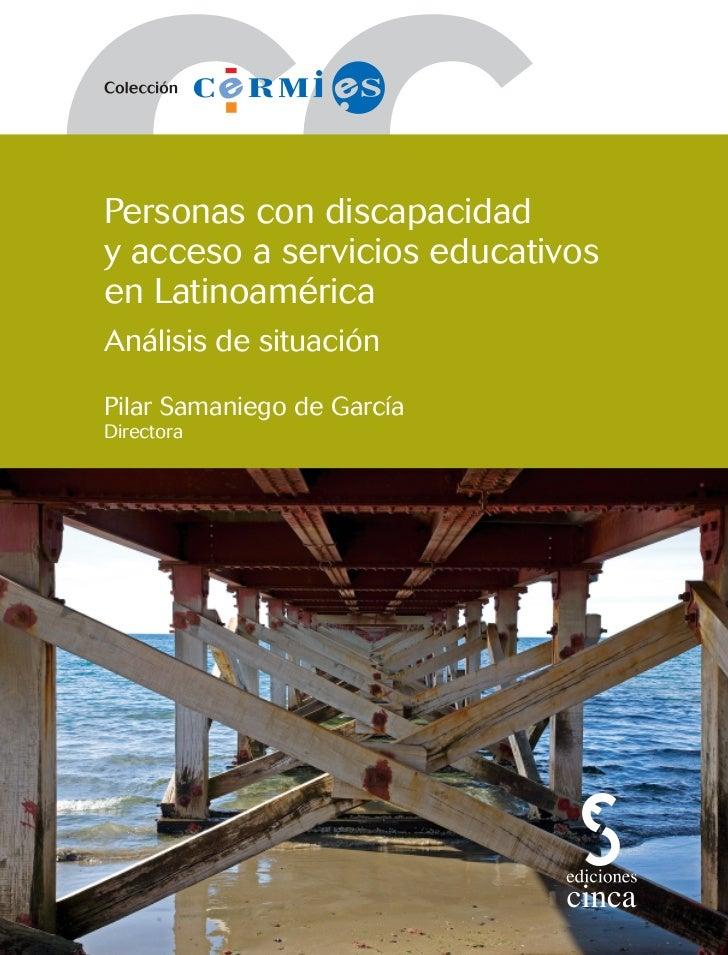 Personas con discapacidad y acceso a servicios educativos en latinoamérica (análisis de situación)