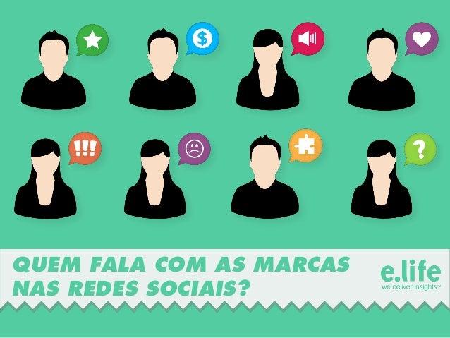 Personas - Quem fala com as marcas nas redes sociais?